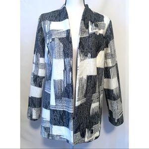 Chico's women's size one patterned blazer